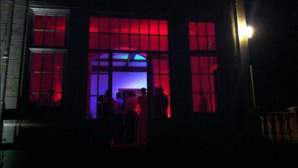 Haus Schnede – Disco im Wintergarten