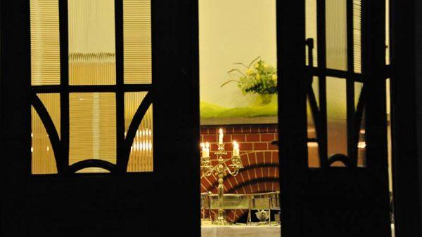Haus Schnede – Blick in die Halle