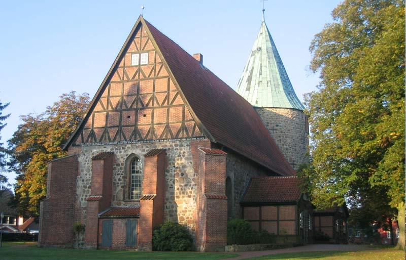 Kirche St. Johannis Salzhausen – © Verkehrs- und Kulturverein Salzhausen e.V.