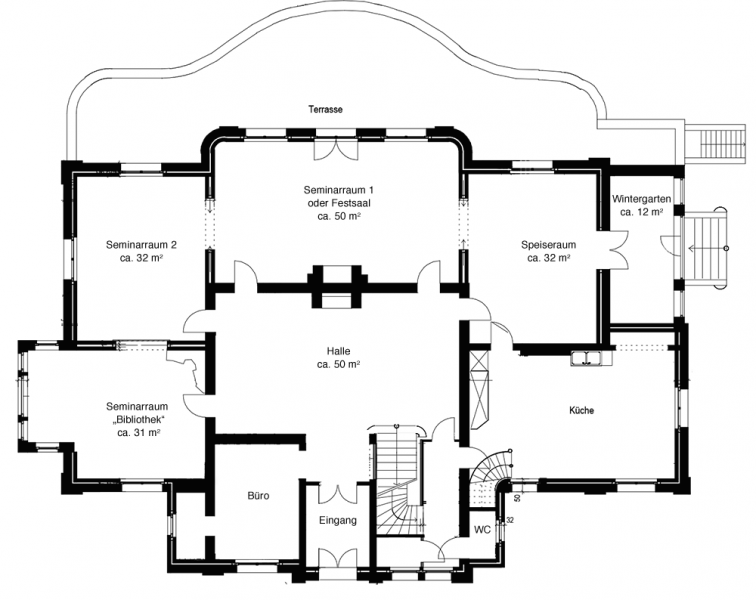 Haus Schnede Grundriss Erdgeschoss